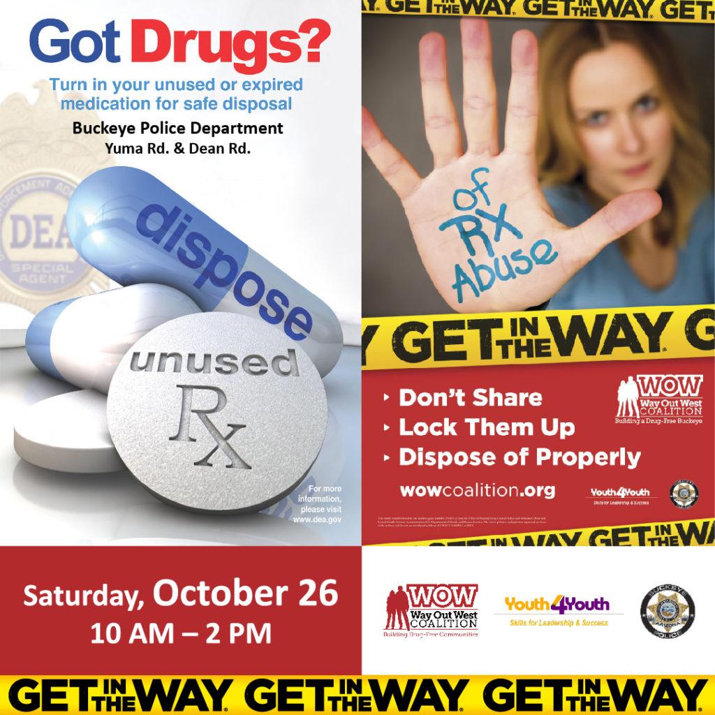 DEA Drug Take Back Event