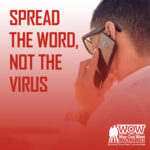 Spread The Word Not The Virus Blog Thumbnail